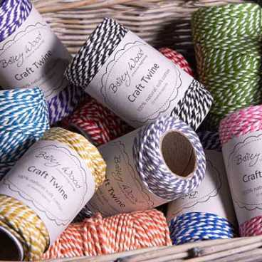 Apple - Cotton Stripe Twine