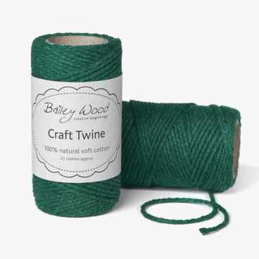 Green - Cotton Twine