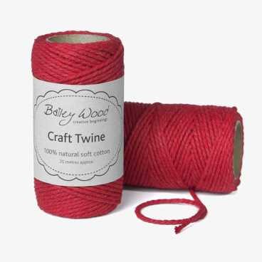 Red - Cotton Twine