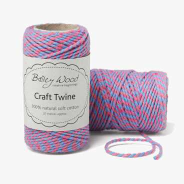 Sky & Candy - Cotton Stripe Twine