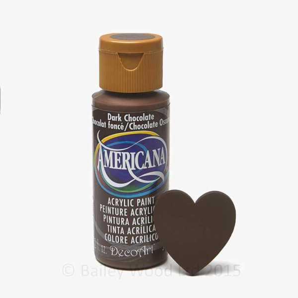 Dark Chocolate - DecoArt Craft Paint