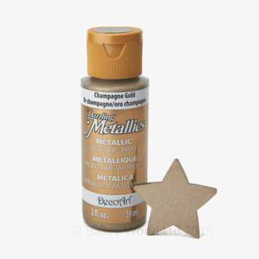 Champagne Gold - DecoArt Metallic Paint
