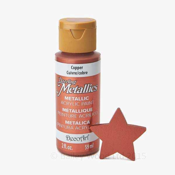 Copper - DecoArt Metallic Paint