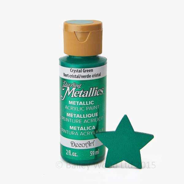 Crystal Green - DecoArt Metallic Paint