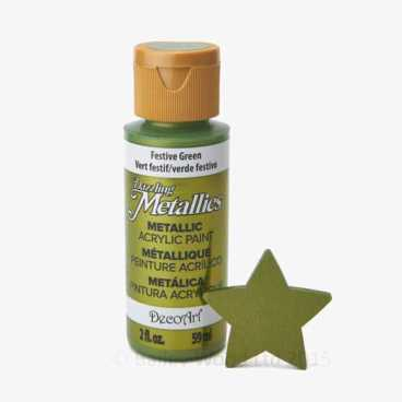 Festive Green - DecoArt Metallic Paint