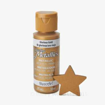 Glorious Gold- DecoArt Metallic Paint