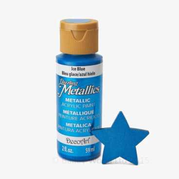 Ice Blue- DecoArt Metallic Paint