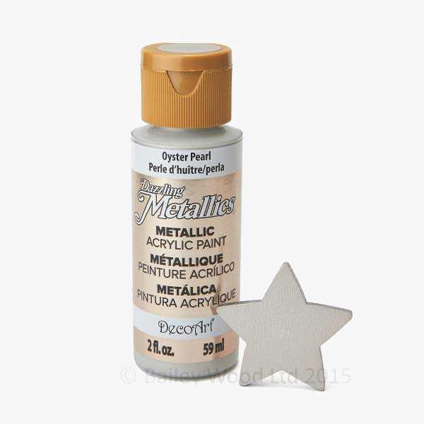 Oyster Pearl - DecoArt Metallic Paint