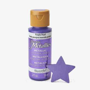 Purple Pearl - DecoArt Metallic Paint