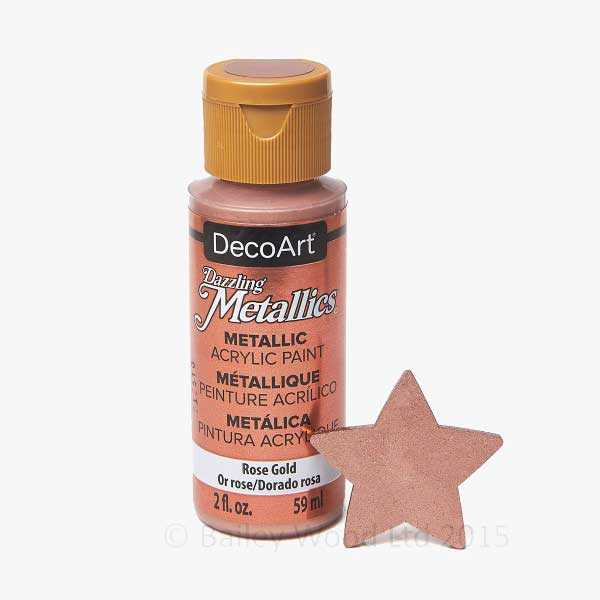 Rose Gold - DecoArt Metallic Paint
