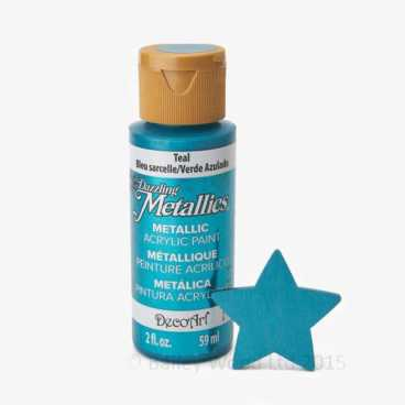 Teal - DecoArt Metallic Paint