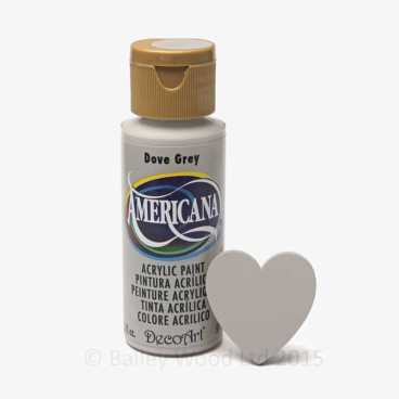Dove Grey - DecoArt Craft Paint