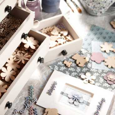Wooden Craft Embellishments