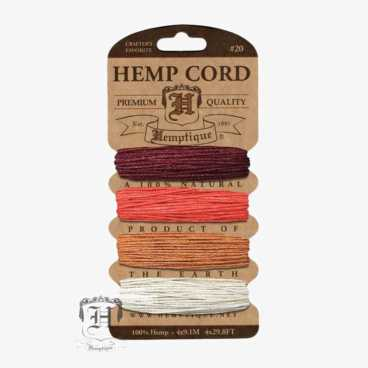 Coral Reef Hemp Cord Set