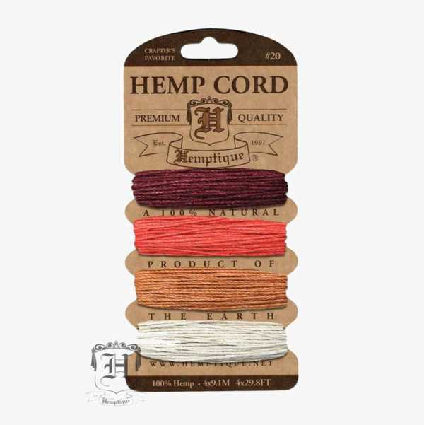 Coral Reef Hemp Cord Set