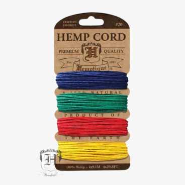 Topaz Hemp Cord Set