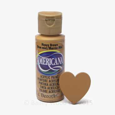 Honey Brown - DecoArt Craft Paint
