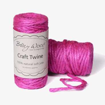 Pink - Jute twine