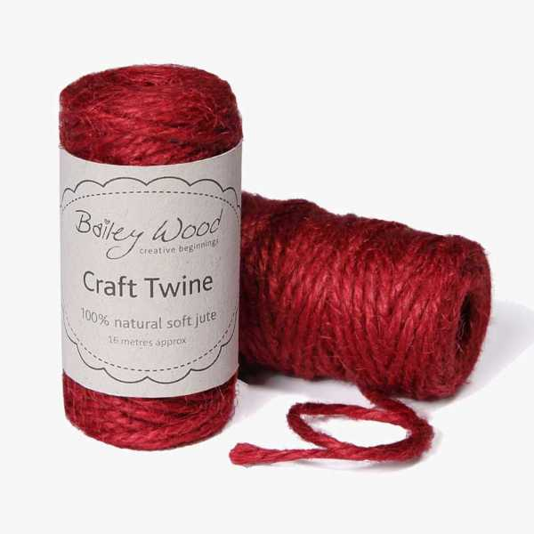 Red - Jute Twine