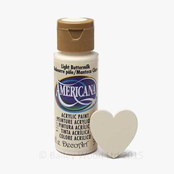 Light Buttermilk - DecoArt Craft Paint