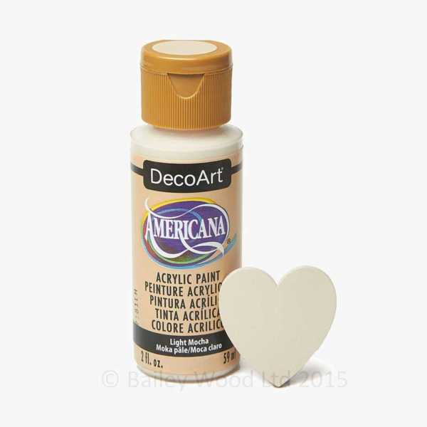 Light Mocha - DecoArt Craft Paint