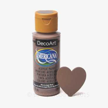 Mississippi Mud - DecoArt Craft Paint