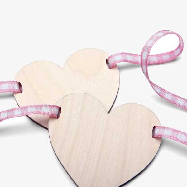 Pink Check Ribbon