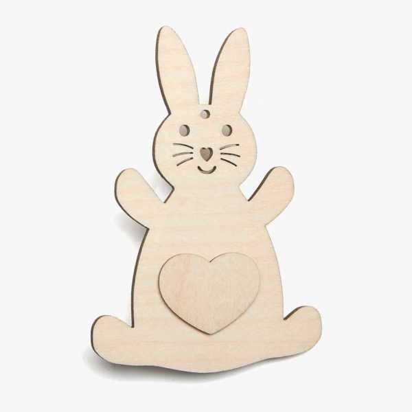 Rabbit With Heart