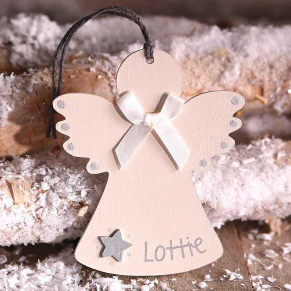 Wooden Angel Shapes