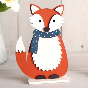 Wooden Fox Craft Kit