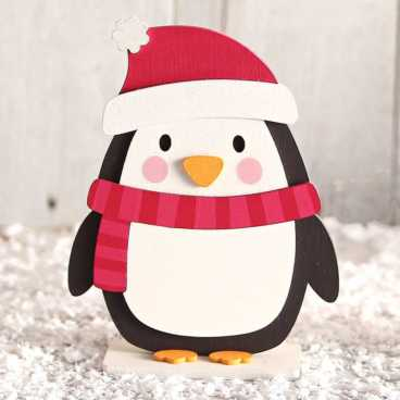 Wooden Penguin Craft Kit
