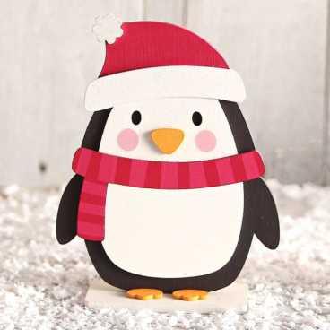 Wooden Penguin Craft Kit