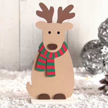 Wooden Reindeer Craft Kit