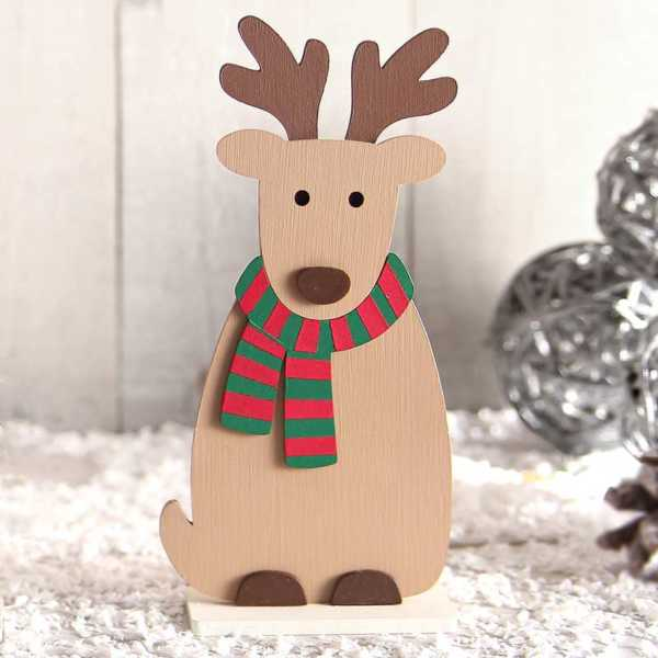 Wooden Reindeer Craft Kit