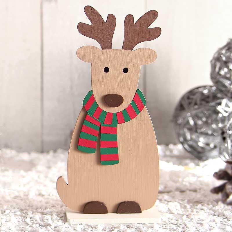Wooden Reindeer Craft Kit Bailey Wood