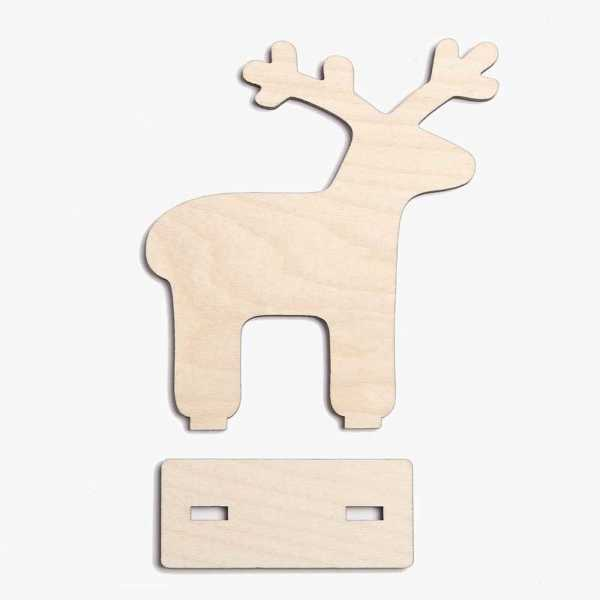Freestanding Reindeer