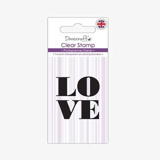 Love Stacked Stamp Set
