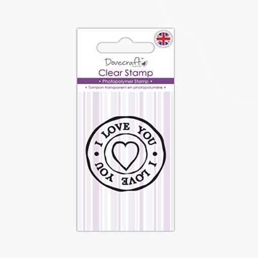 I Love You Stamp Set