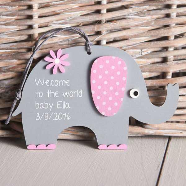 Wooden Elephant Craft Kit