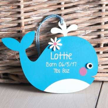 Wooden Whale Craft Kit