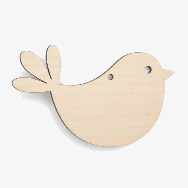 Bird Wooden Craft Shapes Blanks