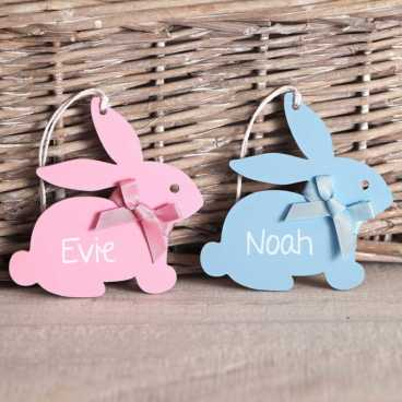Wooden Bunny Craft Shapes