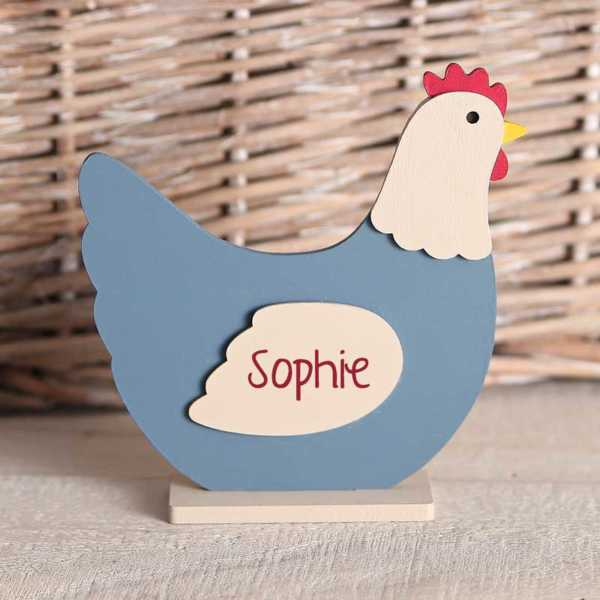 Wooden Freestanding Chicken Shapes