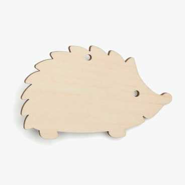 Hedgehog Wooden Craft Shapes Blanks