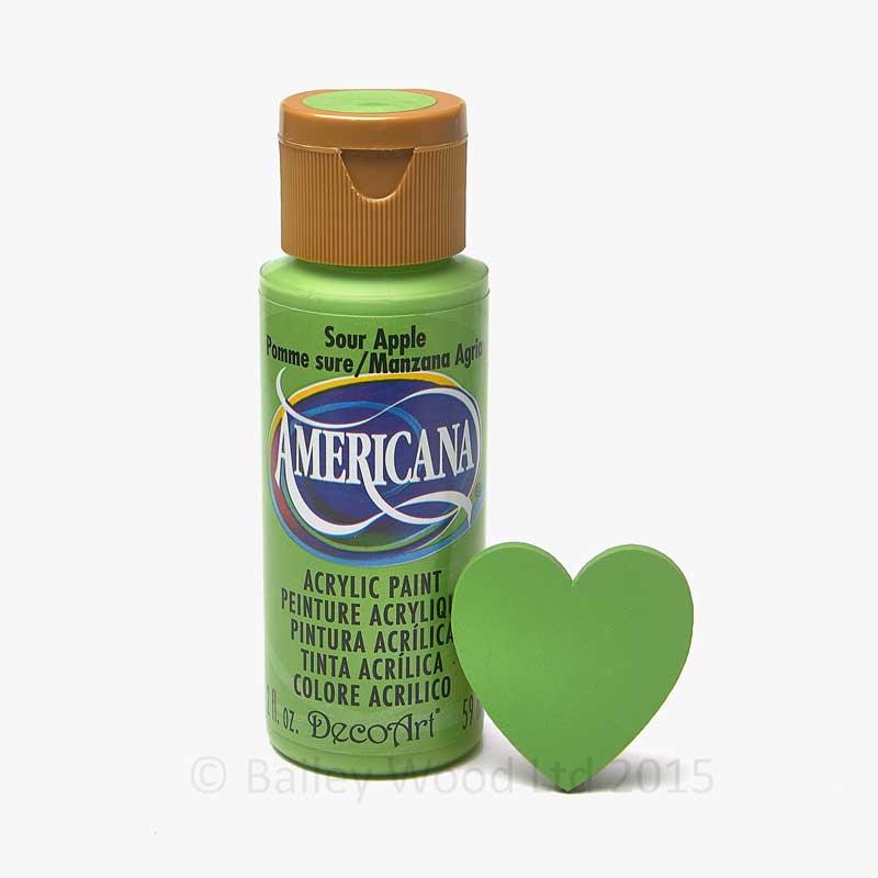 Sour Apple Decoart Craft Paint Bailey Wood