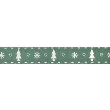 Green Tree Ribbon - 20m