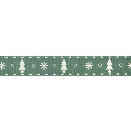 Green Tree Ribbon - 20m