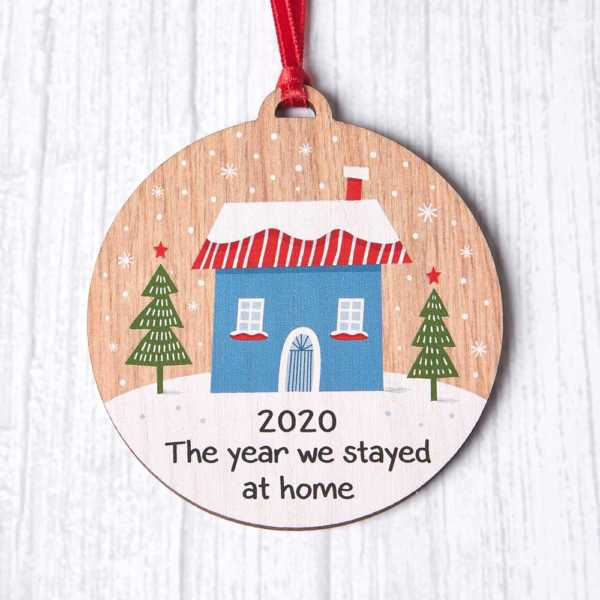 The Year We Stayed At Home Bauble
