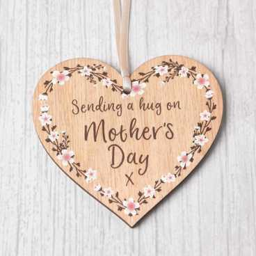 Mother's Day Heart - Sending a Hug