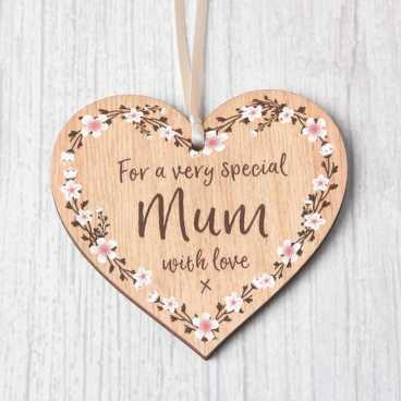 Mother's Day Heart - Special Mum